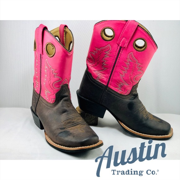 Austin Clothing Co. Other - Austin Trading Co. Kids' GiddyUps Cowgirl Boots